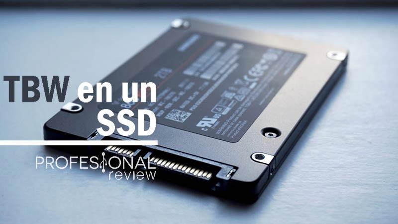 TBW en un SSD