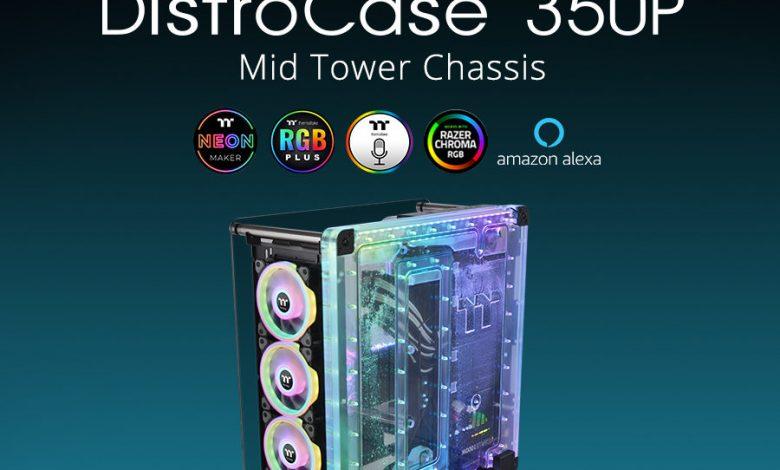 Photo of Thermaltake DistroCase 350P, disponible la caja con refrigeración liquida