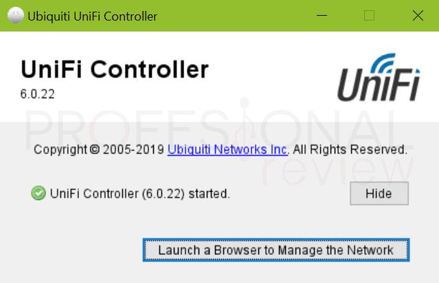 Ubiquiti UniFi UAP-nanoHD Software