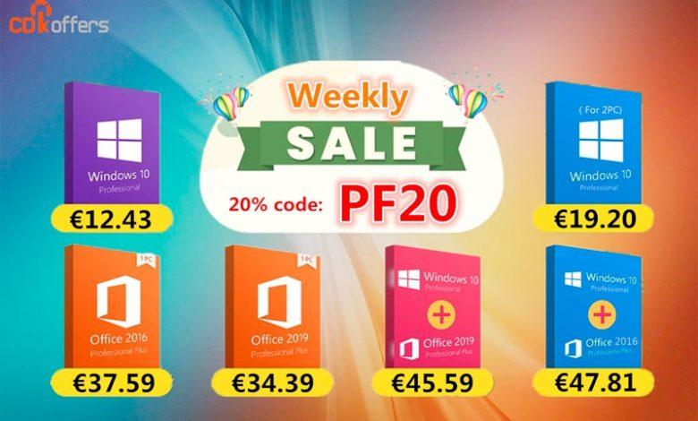 Photo of Consigue licencias baratas de Windows y Office desde 12€