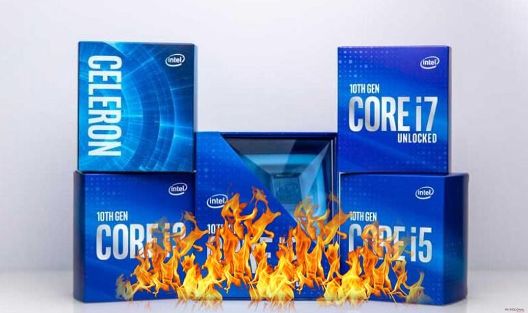 disipador stock Intel Core K