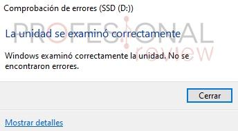 error irrecuperable hardware CHKDSK