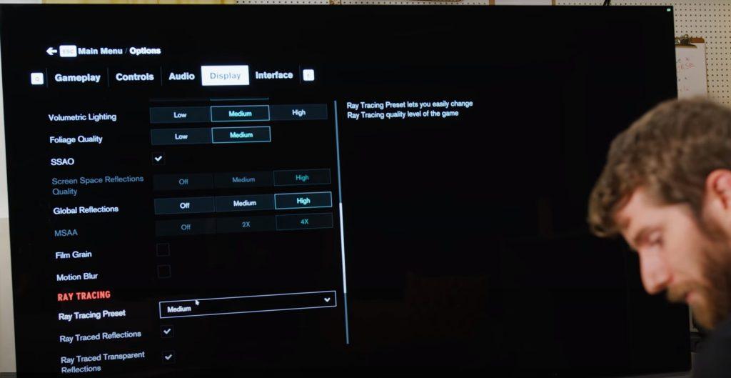 gaming RTX 3090 8K control
