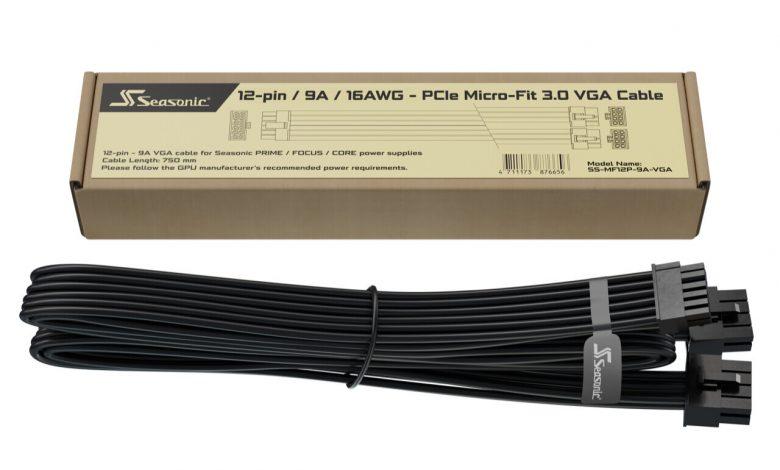 Photo of Si tienes una fuente Seasonic, el cable de 12 pines para RTX te sale gratis