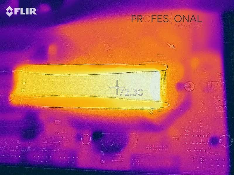 XPG Spectrix S40G 1 TB Temperaturas