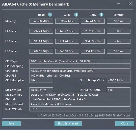 ADATA XPG Spectrix D50 Benchmark