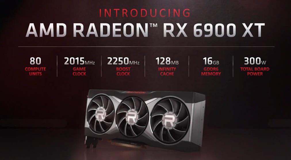 AMD Radeon RX 6900 XT caracteristicas