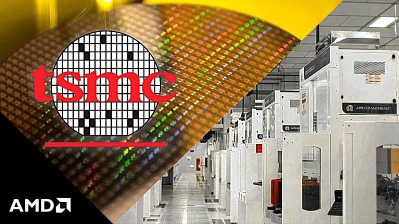 AMD y TSMC producción