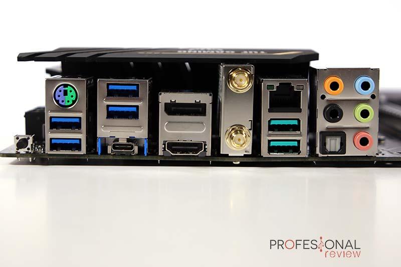 Asus TUF Gaming X570 Pro Wi-Fi Puertos