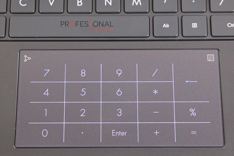 Asus ZenBook 14 UX425EA Tocupad