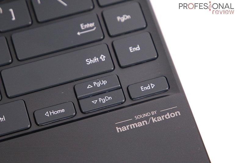 Asus ZenBook 14 UX425EA Sonido