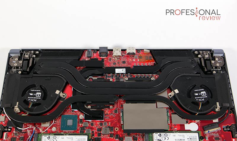 Asus Zephyrus Duo 15 GX550L Refrigeración