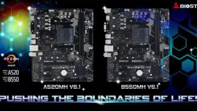 Photo of Biostar A520MH y B550MH, placas base Ryzen Micro-ATX