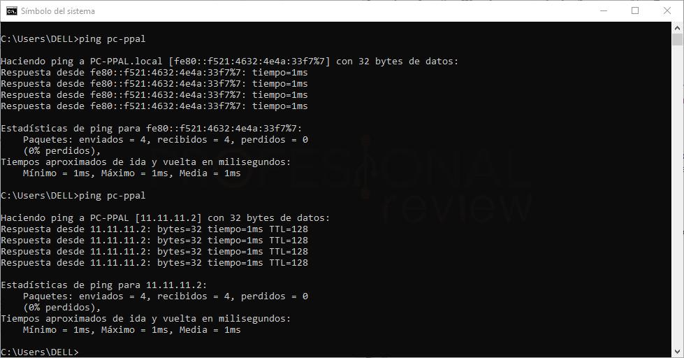 configurar el fichero hosts paso12