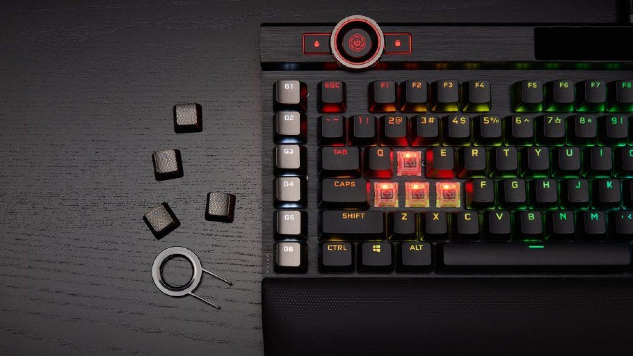 Corsair K100 RGB, teclado gaming con 44 zonas RGB