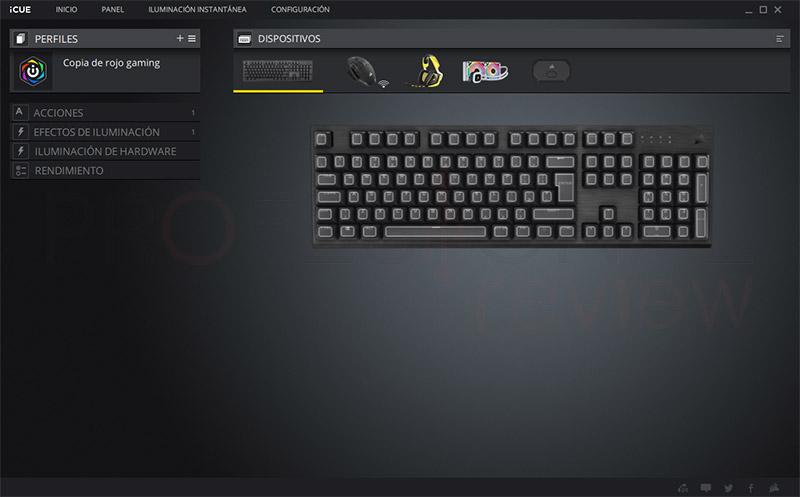 Corsair K60 RGB Pro Software