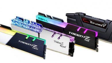 Photo of G.Skill DDR4-3600 CL14 64GB, nuevos kits de memoria de bajísima latencia
