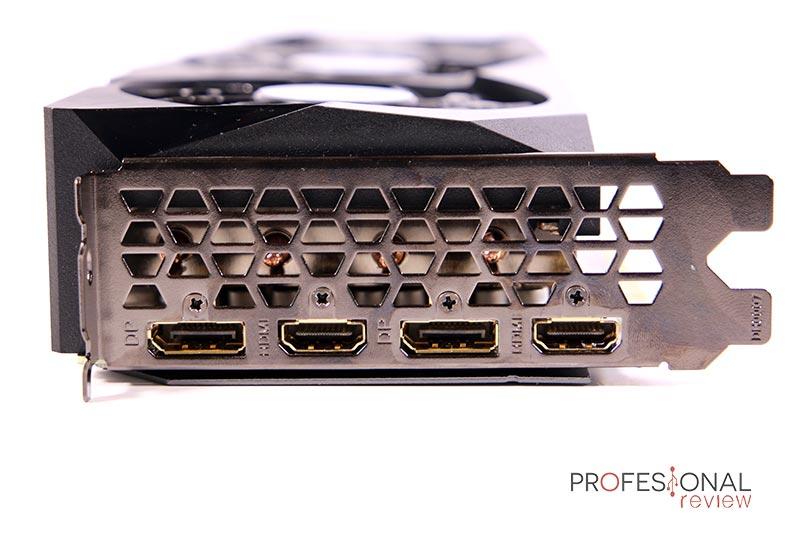 Gigabyte RTX 3070 Gaming OC 8G Puertos
