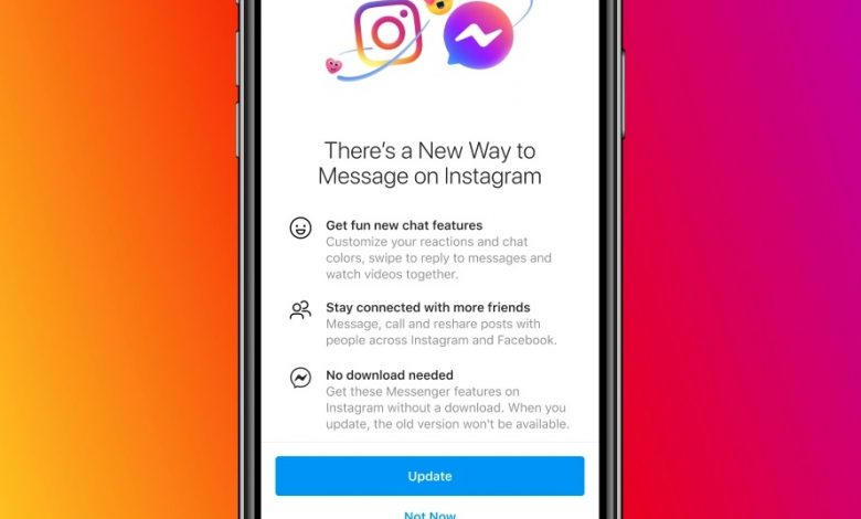 Photo of Messenger y los mensajes de Instagram se unifican