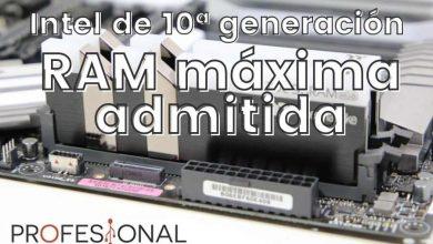 Photo of Velocidad de RAM máxima en placas Intel Z490, H470, B460 y H410