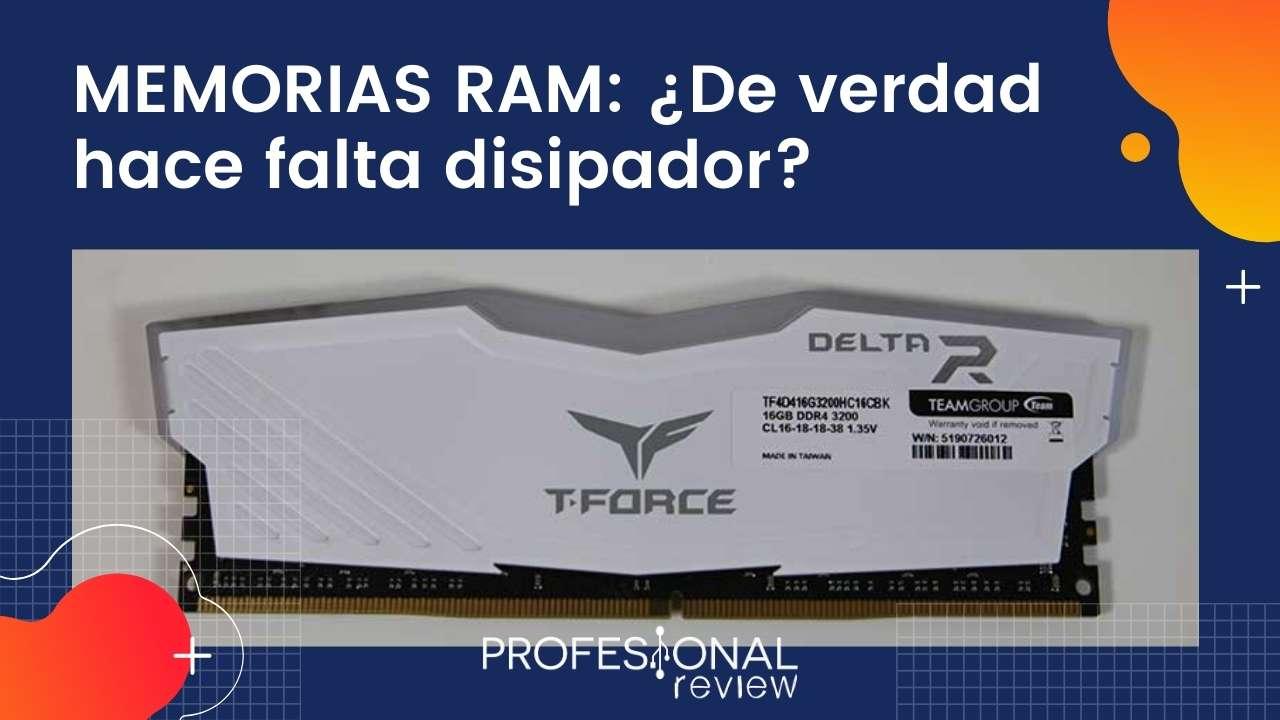 Memorias RAM: ¿Hace falta disipador?