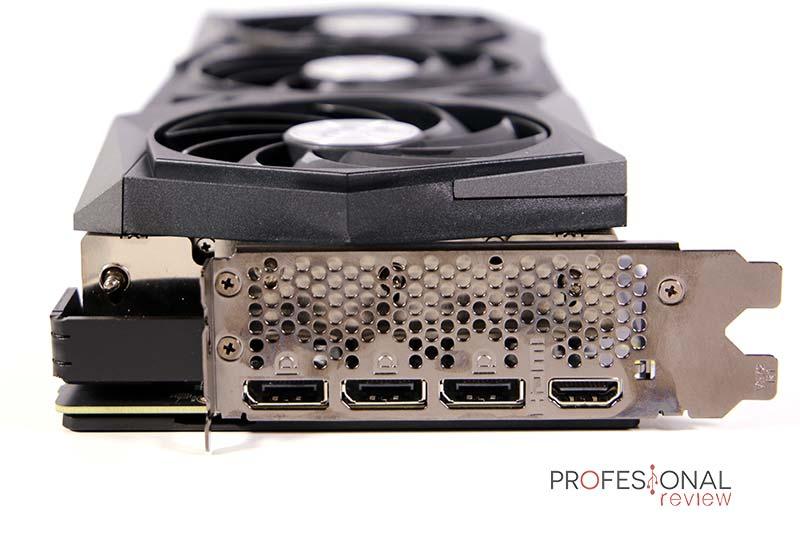 MSI RTX 3070 Gaming X Trio Puertos
