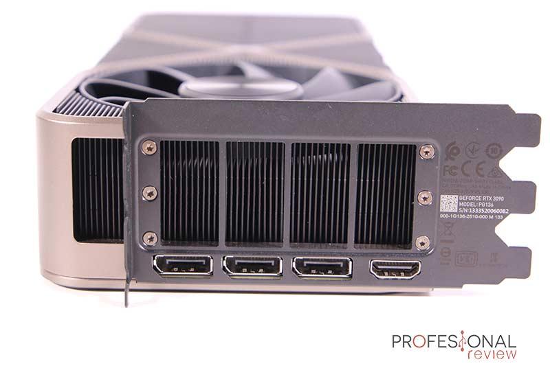 Nvidia RTX 3090 Puertos