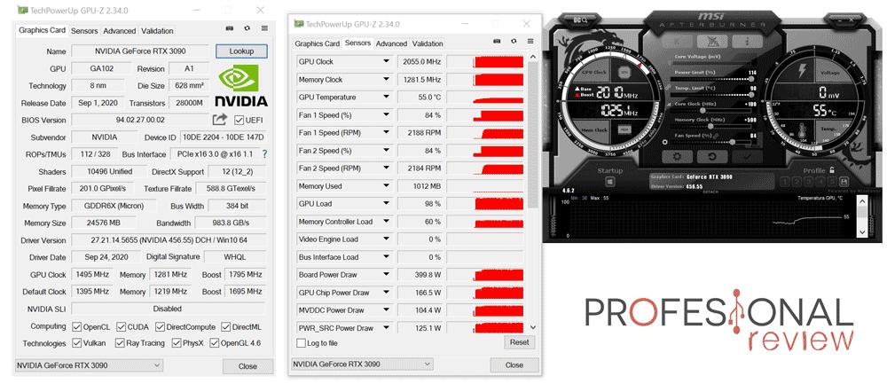 Nvidia RTX 3090 Overclocking