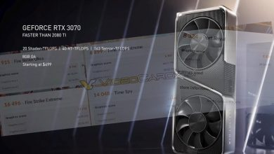 Photo of Filtrada la NVIDIA GeForce RTX 3070 en 3DMark con datos similares a la 2080 Ti