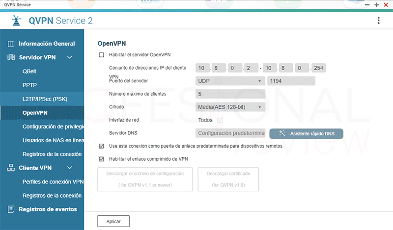 VPN con NAS QNAP paso05
