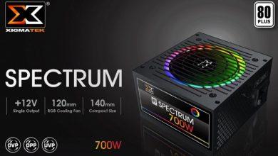 Photo of Xigmatek Spectrum, nueva fuente de alimentación RGB de 700W