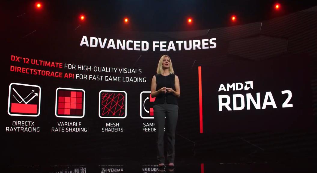 Ray tracing AMD RDNA 2