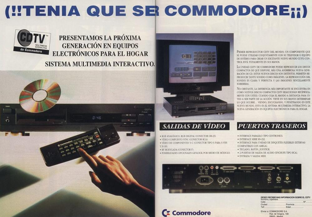 Commodore Dynamic Total Vision