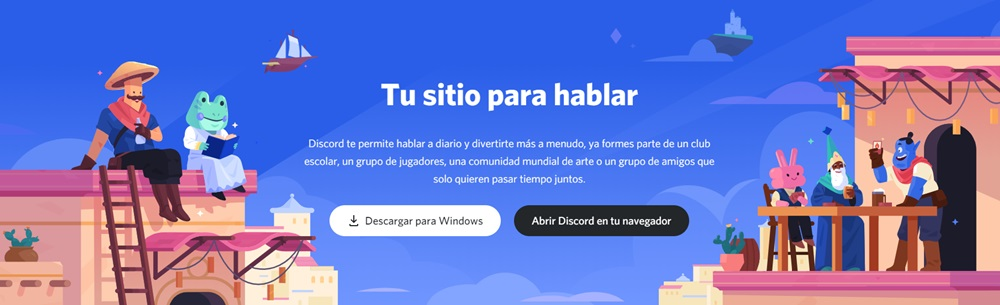 discord web programa