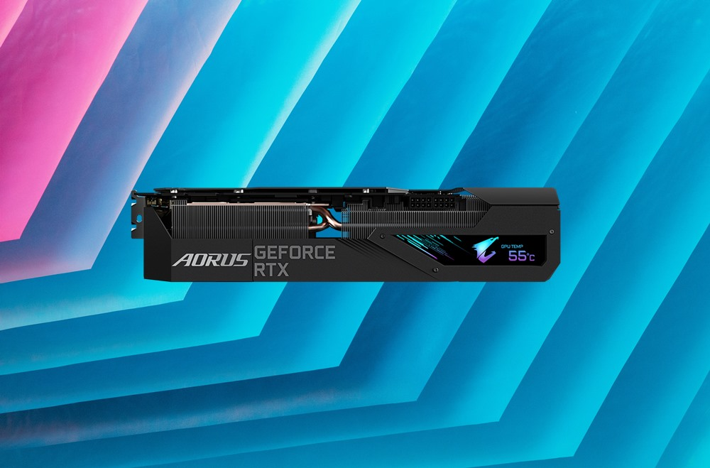 gigabyte rtx 3000 aorus xtreme LCD