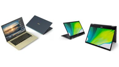 Photo of Acer Swift, Spin y Aspire: nuevos portátiles con GPU dedicada Intel Xe MAX