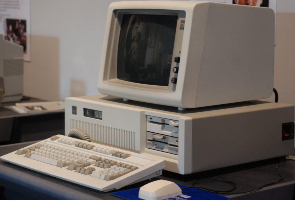pc dos IBM PC/AT