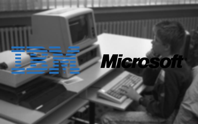 ibm y microsoft pc dos