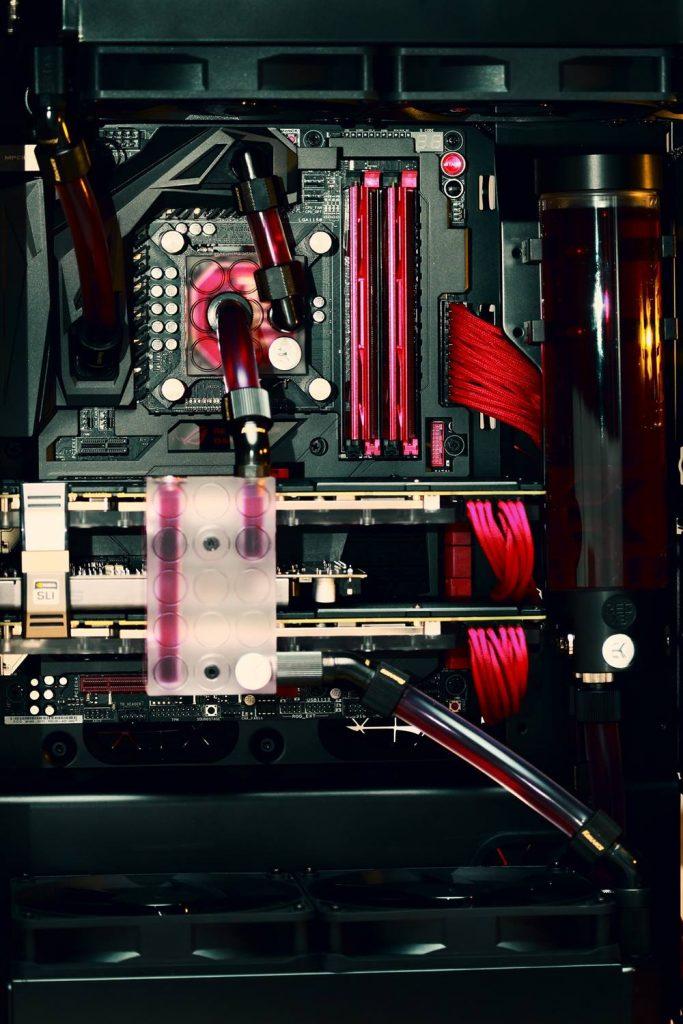 refrigeración líquida doble etapa PC
