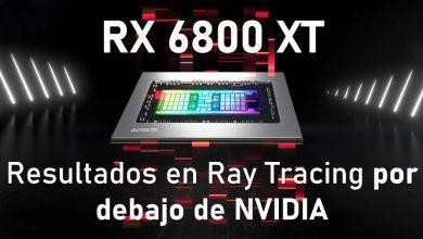 Photo of Rendimiento de la RX 6800 XT en Ray tracing: claramente por debajo de la RTX 3080