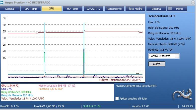 argus monitor GPU