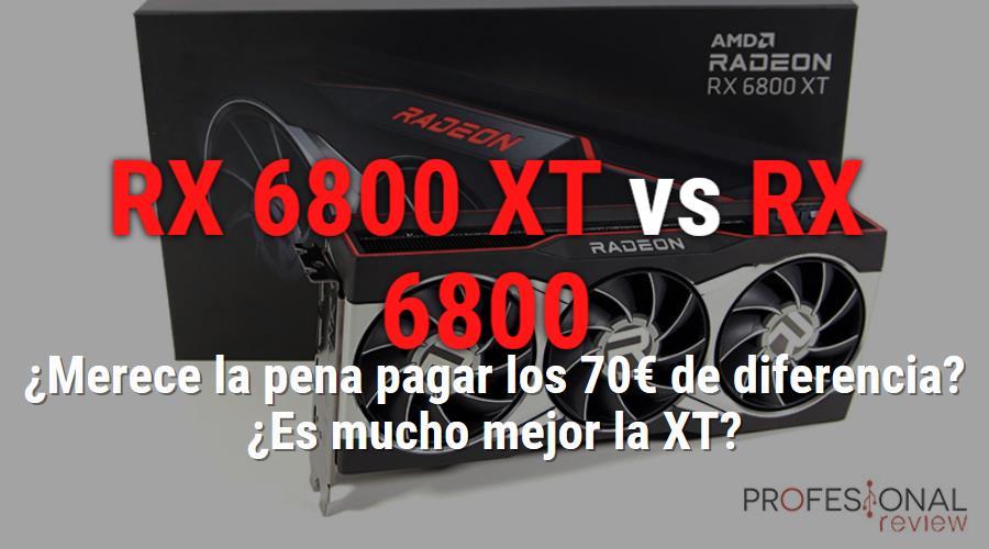AMD Radeon RX 6800 XT vs AMD Radeon RX 6800