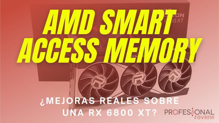 AMD Smart Access Memory Mejoras de rendimiento RX 6800 XT