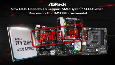 Photo of ASRock elimina el BIOS de las placas base B450 con soporte Ryzen 5000