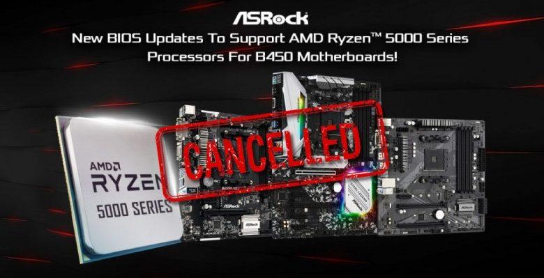 Photo of ASRock elimina el BIOS de las placas base B450 con soporte Ryzen 5000