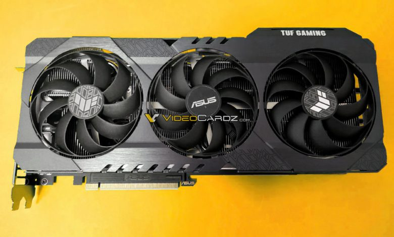 Photo of Asus GeForce RTX 3060 Ti TUF Gaming posa par las cámaras