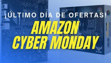 Photo of Cyber Monday en Amazon 30/11: ¡Aprovecha el último día de ofertas en hardware y periféricos!