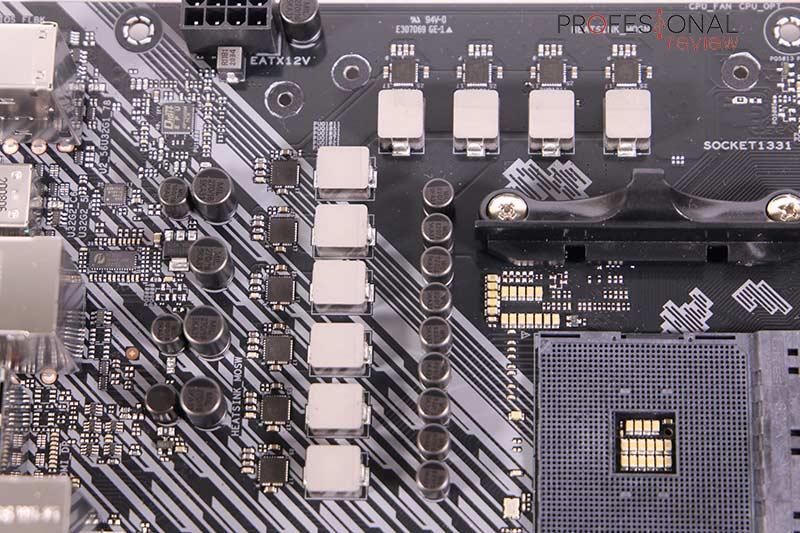 Asus TUF Gaming B550 Plus Wi-Fi VRM
