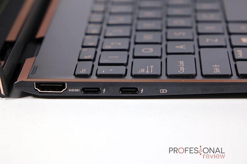 Asus Zenbook Flip S UX371 Puertos