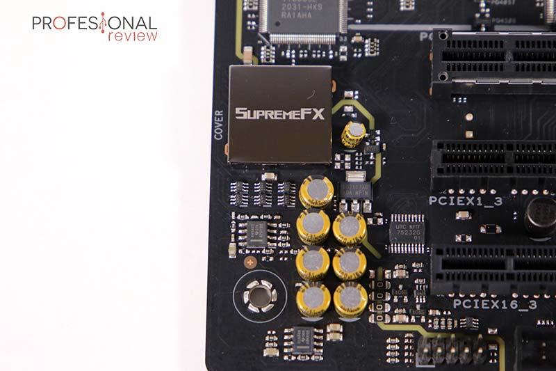 Asus ROG Strix B450-F Gaming II Sonido